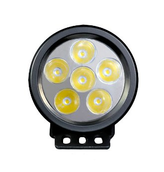 Ordina FARO TONDO 6 LED 3W - 89mm